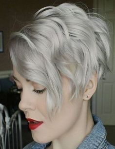 100 Mind-Blowing Short Hairstyles for Fine Hair Ash Blonde Wavy Pixie Bob Short Shag Hairstyles, Bob Hairstyles For Fine Hair, Cool Hairstyles, Hairstyles 2018, Choppy Haircuts, Scene Hairstyles, Hairstyles Pictures, Casual Hairstyles, Medium Hairstyles