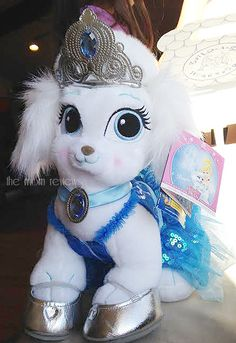 Check out the Disney Princess Palace Pets from Build-a-Bear Workshop and enter to win a $25 GC to make your own!