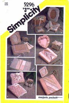 1980s Simplicity 5296 Pattern Frames Box Album by patternshop, $12.99