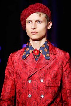 Gucci Spring 2016 Menswear Fashion Show Details