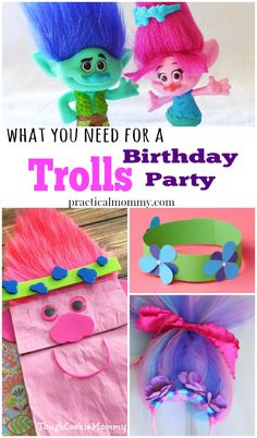 10 Things You Need To Throw The Perfect Trolls Birthday Party. These Troll birthday party ideas are so much fun!!