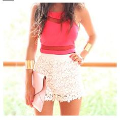 <3 the lace skirt