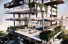 Edifício Itaim Proposal / FGMF Arquitetos Edifício Itaim Competition Proposal (5) – ArchDaily