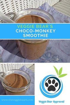 Veggie Bear's Choco-Monkey Smoothie – The Veggie Bears