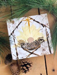 Manger Scene Painting Nativity Painting Christmas Decor | Etsy