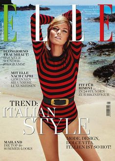 Elle Magazine Germany May 2014 | Cristina Tosio #fk #fashionkiosk #style