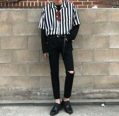 Check Out These Amazing korean fashion outfits 5625 Neue Outfits, Grunge Outfits, Grunge Fashion, Boy Fashion, Boy Outfits, Mens Fashion, Fashion Outfits, Fashion Black, Paper Fashion