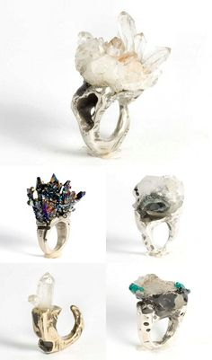 #rings #crystals