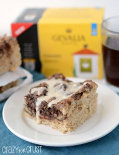 Mocha Coffee Cake by crazyforcrust.com | A coffee cake filled with ...