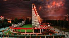 Views of Cincinnati in Motion- Coney Island in the Cincinnati in Motion exhibit #coneyisland #history #rollercoaster #cincinnatihistory #cincymuseum #cincinnatiinmotion (photo by Nick Massa)