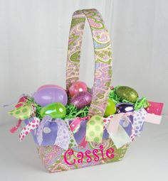 This yrs Easter Basket!!! Gotta get my diva an outfit to coordinate:)