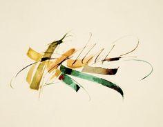 claude mediavilla - Galérie Calligraphie