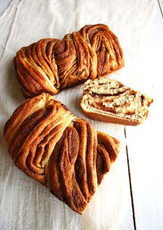 Russian cinnamon braid bread