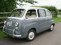 Fully restored 1964 Fiat 600D Multipla on eBay
