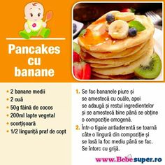 Pancakes, Breakfast, Banana, Bebe, Morning Coffee, Pancake, Morning Breakfast, Crepes