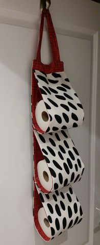 Make Me   Quick Toilet Roll Holder   Fabric Punk  