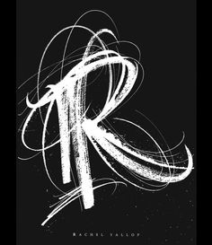 Rachel Yallop R Letter Design, Alphabet Letters Design, Letter R Tattoo, Letter Logo, Flowery Wallpaper, Love Wallpaper, Shen Long Tattoo, Logo Design Inspiration, Icon Design