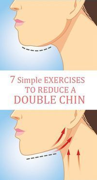 7 Simple Exercises to Reduce a Double Chin Fast.