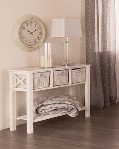 DINA Console Table (White)