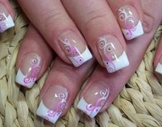 easy nail art ideas | Trendy French Nail Art Designs 2011