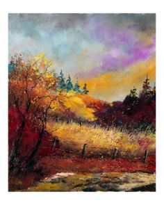 'Fall' Giclee Print by Pol Ledent