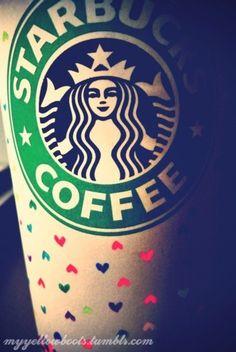 i ♥ HEART Starbucks all February!  http://www.1YearOfMyLife.wordpress.com  #Starbucks #LoveStarbucks @Starbucks