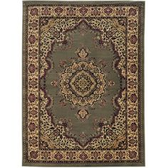 Admire Home Living Caroline Medale Oriental Rug (7'9 x 11') | Overstock.com Shopping - The Best Deals on 7x9 - 10x14 Rugs