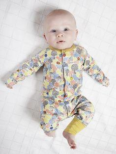 Modeerska Huset baby fashion trends for spring 2014 from Sweden