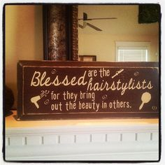 Blessed are the hairstylists for they bring by BlairsBabyBlocks, $9.00