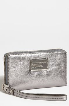 #Nsale Nordstrom -Got this in Cement it's perfect! - MARC BY MARC JACOBS 'Classic Q - Wingman' iPhone 5 Wristlet available at #Nordstrom