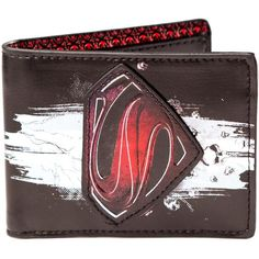 Other Clothes Man Of Steel Emblem Logo Bi-Fold Wallet - Brand Superman Love, Superman Man Of Steel, Superman Stuff, Track Pictures, Comic Clothes, Harry Potter, Best Superhero, Marvel Dc Comics, Geek Stuff
