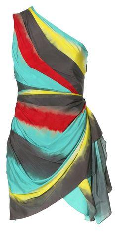 Alice + Oliva, Krysta wrap dress. I love the colors!