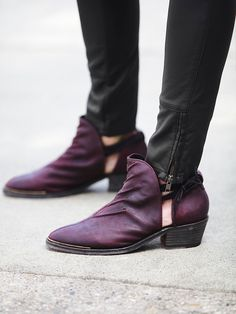 Free People Southern Cross Ankle Boot at Free People Clothing Boutique, cordovan, size 8 $248