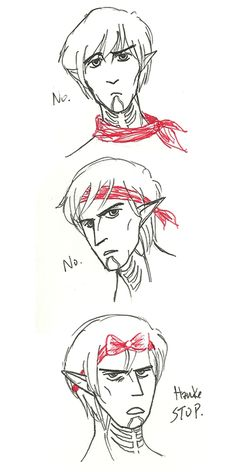 I couldn't help but giggle at adorable Fenris