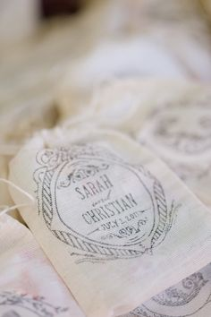 love what this bride created with our free printables!