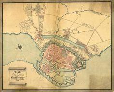 1779 map of Copenhagen, Denmark