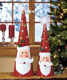 2-Pc. Tree-Shaped Holiday Decor