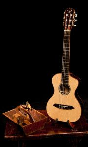 Lichty Custom 6 string Kīkū - handcrafted by custom guitar and ukulele builder Jay Lichty, Lichty Guitars