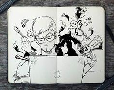 365 Days Of Doodles – Les superbes illustrations de Gabriel Picolo (image)