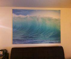 Ikea Wave Picture Room Boys Room In 2019 Bedroom