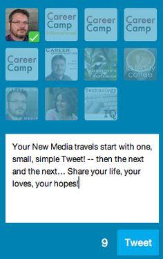 New Media Prescription: Think small. Get started. Don't be overwhelmed #newmedia #socialmedia http://welchwrite.com/cip/2014/05/26/new-media-prescription-think-small-get-started-dont-be-overwhelmed/#sthash.qL2lworR.dpuf