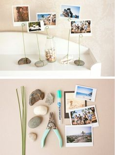 Photo stone holders