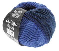 Cool Wool Degrade von Lana Grossa Merino superfein Wolle Qualität.