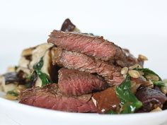 Steak, Mushrooms and Greens with Barley - iVillage