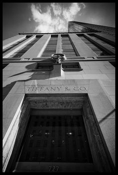 Tiffany & Co. flagship store on 5th Avenue, New York City