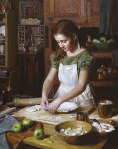 """Apple Pie"" ... by Morgan Weistling American"