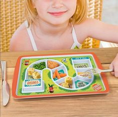 Gamified Tot Meal Plates - The Dinner Winner Plate for Kids Makes Cleaning a Plate Fun (GALLERY)