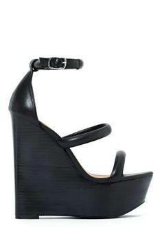 Shoe Cult Tease Wedge - Black... Have :)