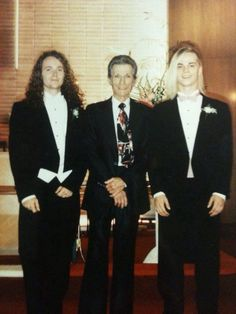 Left to right Your Dad Robert, Your Grandfather, your Uncle Bill
