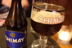 Chimay Blue. Would temper the down-side of being a Trappist monk considerably.